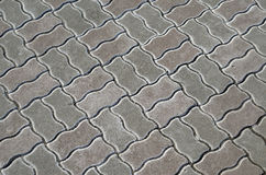 Paving stone texture Stock Photography