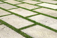 Paving stones stock photo