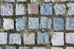 Paving stones. Pattern and background Royalty Free Stock Photo