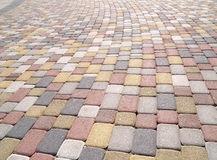 Paving stones Stock Images