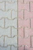 Paving stones as a background Stock Image