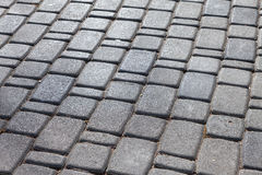 Paving stones as background Stock Photography