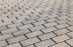 Paving stones as background Royalty Free Stock Photos