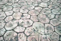 Paving stones and Background Royalty Free Stock Photo