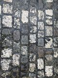 Paving stones. Royalty Free Stock Photos