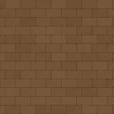 Paving Stones Brick Wall. Brick Wall Paving Stones Medium Pattern Background / Brown Brick Surface / Seamless texture Stock Illustration