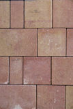 Paving stones on construction market. Paving slabs background. Stock Photos