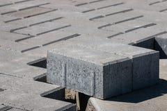 Paving stones flooring Royalty Free Stock Photos