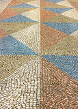 Paving stones in Lisbon Stock Images