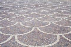 Paving stones mosaic Stock Image