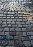Paving stones. Old paving stones of one of the streets in Sopot, Poland Royalty Free Stock Image