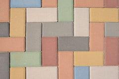 Paving stones pattern, background Stock Photography