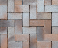 Paving stones pattern, pavement texture. Modern pavement background texture Stock Photography