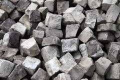 Paving stones. Pile of paving stones Royalty Free Stock Images