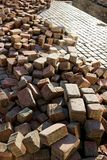 Paving stones on stack Stock Photo