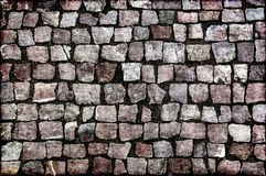 Paving stones street Royalty Free Stock Image