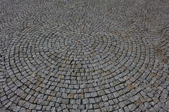Paving stones texture Royalty Free Stock Images