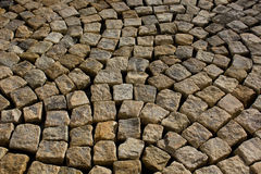 Paving stones texture Stock Images