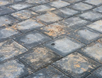 Paving a street Stock Image