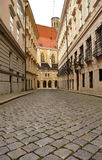 Paving street in Vienna Royalty Free Stock Photography