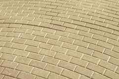 Paving tile background Royalty Free Stock Photo