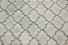 Paving tiles Royalty Free Stock Photography
