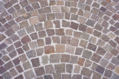 Paving Tiles, Mediterranean area Royalty Free Stock Photography