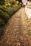 Paving way. This pict was taken in France Stock Images