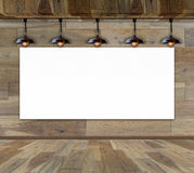 Paving wood floor on the forest backgrounds Stock Photography