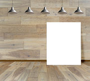 Paving wood floor on the forest backgrounds Stock Photos