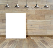 Paving wood floor on the forest backgrounds Royalty Free Stock Image