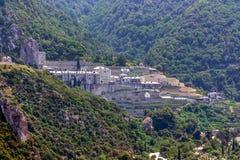 Pavlou monaster, góra Athos Obrazy Stock