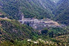 Pavlou monaster, góra Athos Obraz Stock