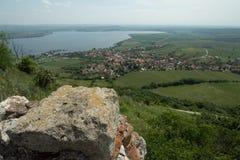 Pavlov wioska w Południowym Moravia Fotografia Royalty Free