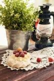 Pavlova cake Stock Photo