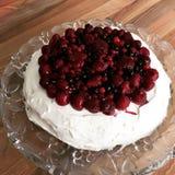 Pavlova cake Stock Photography