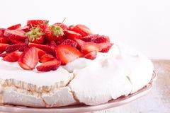 Pavlova cake Stock Image