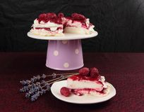 Pavlova cake Stock Photos