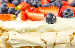 Pavlova Close Up II Stock Photo