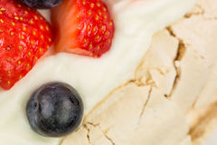 Pavlova Close Up IV Royalty Free Stock Photography
