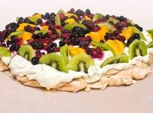 Pavlova dessert Stock Images