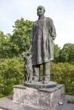 Pavlova, RUSSIA. Monument Pavlov dog. Stock Images
