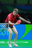 PAVLOVICH Viktoria at the Olympic Games in Rio 2016. Royalty Free Stock Photo