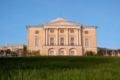 Pavlovsk宫殿, 18世纪,在圣彼得堡,俄罗斯附近的俄国皇家住所 免版税图库摄影
