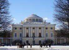 Pavlovsk宫殿 圣彼德堡 俄国 免版税库存图片