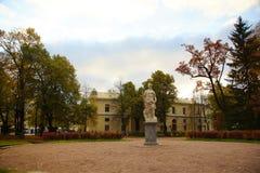 Pavlovsk的,圣彼德堡Pavlovsky公园 免版税库存图片
