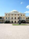Pavlovsk盛大宫殿圣徒Peterburg纪念碑 免版税库存图片