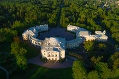 Pavlovsk αεροφωτογραφία παλατιών Γειτονιά της Αγία Πετρούπολης, Ρωσία στοκ φωτογραφίες