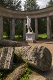 Pavlovsk de colonnade van Parkapollo in heilige-Petersburg Rusland royalty-vrije stock foto's