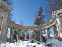 Pavlovsk Kolumnada Apollo (dolny widok) fotografia stock